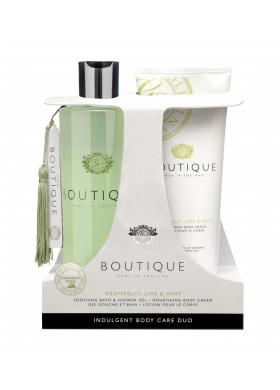 Grace Cole - Indulgent Bodycare Duo - Grapefruit, Limette und Minze