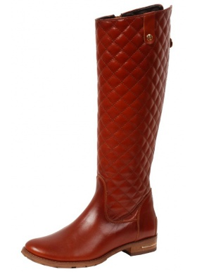 Schucco Paola Quilted – Stiefel – Braun