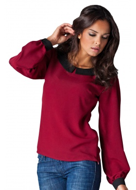 Figl Mary – Bluse – Bordeaux