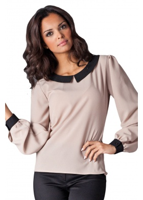 Figl Mary – Bluse – Beige