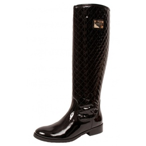 Schucco Yvette Quilted - Boots - Black